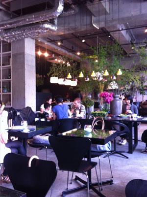 ニコライバーグマンのカフェ