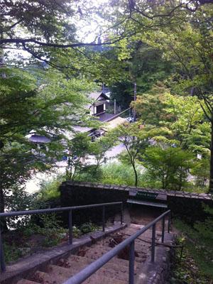 高尾山のビアガーデン