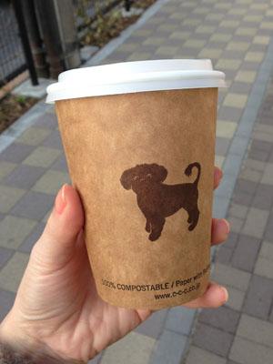 The Cream of the Crop Coffeeでコーヒー買って井の頭公園へ
