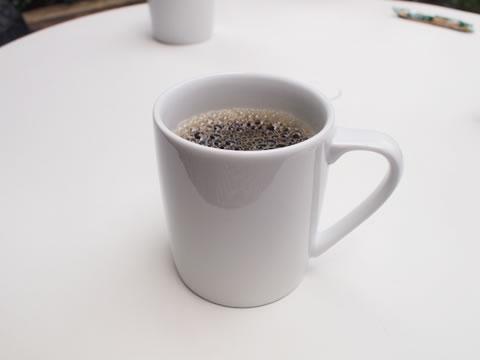 表参道クリスクロスのテラスで朝カフェ