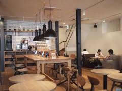 神楽坂のコワーキングカフェ TIMES CAFE タイムズカフェ