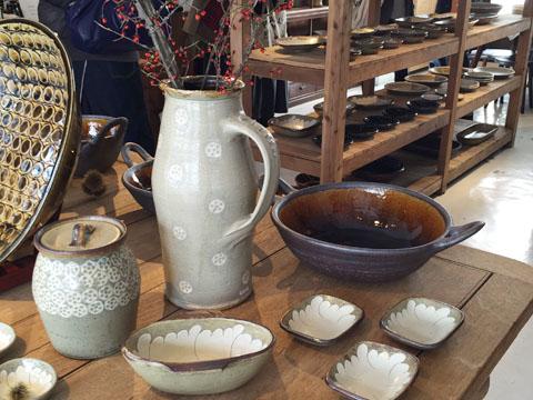 中目黒の器屋さんSMLで岩井窯の土鍋を使った料理教室