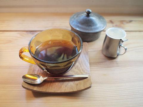 ニシクボ食堂のコーヒー