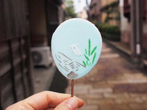金沢の可愛いお土産!加藤晧陽堂のうちわ煎餅
