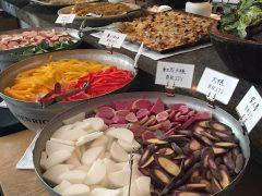 恵比寿の春秋ユラリで野菜たっぷりブッフェのランチ