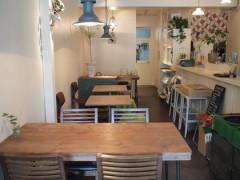 初台のカフェ#108で玄米プレートのランチ