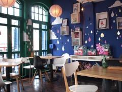 シンガポールのカラフルで可愛いカフェ La Marelle cafe