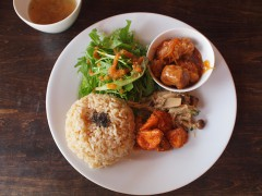 赤坂で有機野菜のランチ Organic Cafe Boji